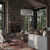 Chalet in the wood