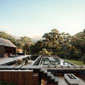 102 Dos Aguas House (сделано по референсу)