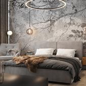 Визуализация мастер-спальни