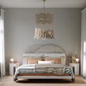 Master bedroom in Culver City.