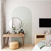 Визуализация спальни в сканди стиле