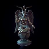 statuette Baphomet