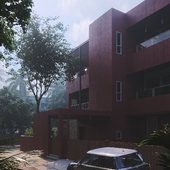 Red Box House (сделано по референсу)
