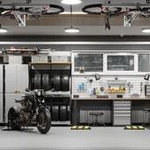 Проект гаража в частном доме.