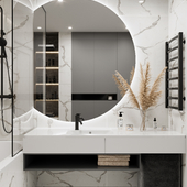 Bathroom (сделано по референсу)