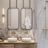3d visualization of bathroom