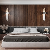 Bedroom for a man