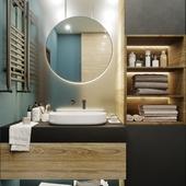Ванная комната 6,5 кв.м.