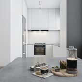 Kitchen. Minimalism.