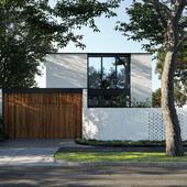 Modern house. Melbourne, Australia.( сделано по референсу)