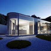 Lake Lugano House, Switzerland (сделано по референсу)