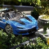 Cделано по урок Lamborghini  Aventador