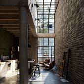 CGI -  kitchen space