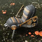 Marc Newson, кресло-муха