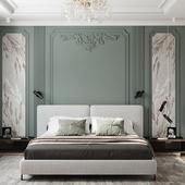 bedroom,спальная комната