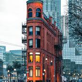 Gooderham building in Canada (сделано по референсу)