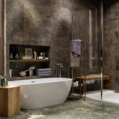 bathroom for aquanet