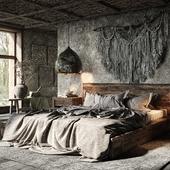 Wabi-Sabi Bedroom