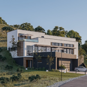 CGI - Private house on the hill