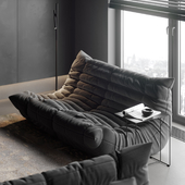Apartment in Moscow Black
