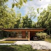 Yokouchi Residence (сделано по референсу)