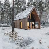 Winter home .