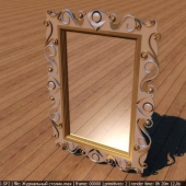 Узорное зеркало