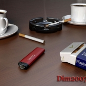 Coffee with a cigarette