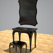 Pierre Cardin Toaletka i zerkalo