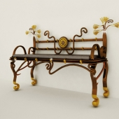 """profi"" bench in Egyptian style"