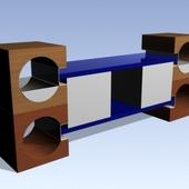 кубики тумбы