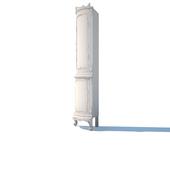 угловой шкаф витрина