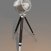 table, standard lamp spotlight