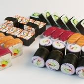 Набор суши, роллов и суси