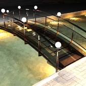Стеклянный мостик