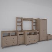 ЛЕКСВИК серия мебели для детской