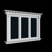 Window using dekora Izoman