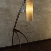 floor lamp, the African
