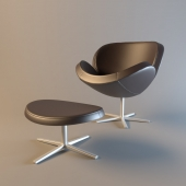BoConcept Schelly with footstool