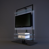 Porada Porta Tv Ubiqua.3d Models Other Tv Rack Olivia