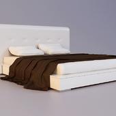 Кровать с двумя тумбами Bo Concept Beds - AQ00