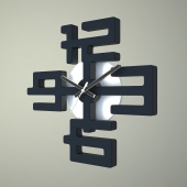 Часы в японском стиле