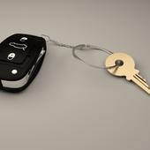 Брелок + ключ