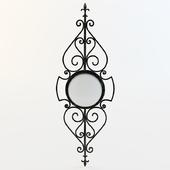 Wrought iron lamp