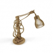 Lamp in the style of Steampunk