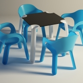 MAGIS / Easy Chair &Table
