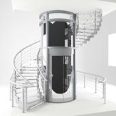 Glass elevator | 3d warehouse.