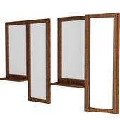 Balkonnoe window-wood