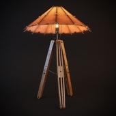 PACIFIC GREEN / Tavarau short lamp