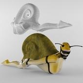 Snail Woman